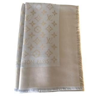 Louis Vuitton Shine Monogram Shawl