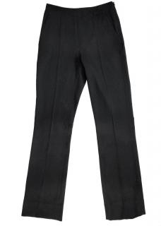 Balenciaga Paris Black Straight Leg Trouser