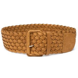 Chloe Camel Leather Belt