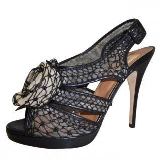 VALENTINO Black Sandals