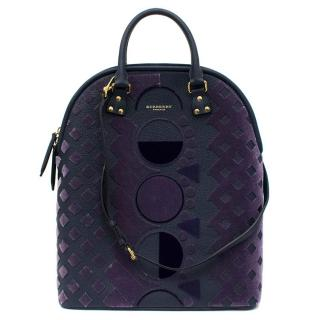 Burberry Prorsum The Bloomsbury in Velvet and Leather