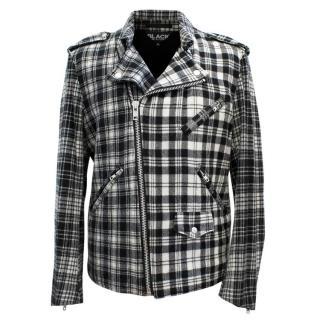 BLACK Commes Des Garcons Black and White Jacket