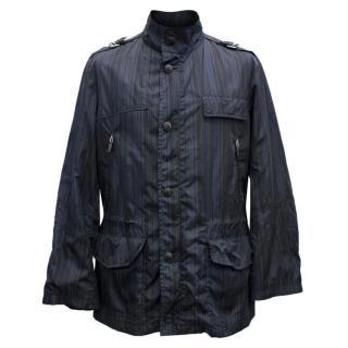Etro Striped Raincoat