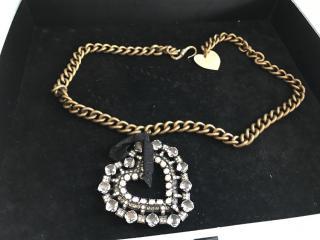 Lanvin heart necklace