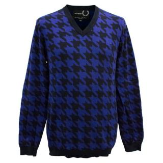 Raf Simons Fred Perry Houndstooth Sweater
