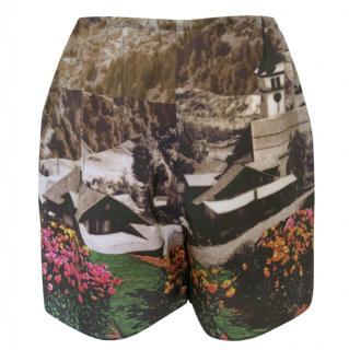 Carven silk shorts