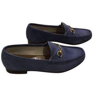 Gucci suede shoes size 5/38