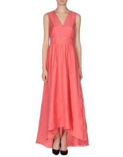 Tibi Pink Long Dress
