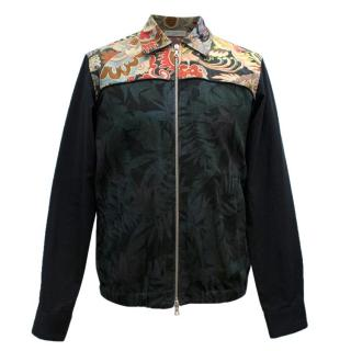 Dries Van Noten Botanical Floral Bomber Jacket