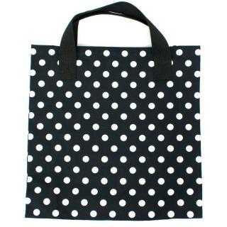 BLACK Commes Des Garcons Black Spotted Tote Bag