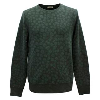 Acne Green Spotted Jumper