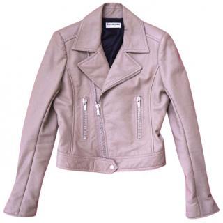 Balenciaga leather jacket RRP 1565 BP never worn
