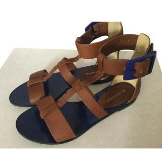 Boss Orange gladiator sandals