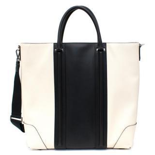 Givenchy Lucrezia Cream and Black Tote Bag