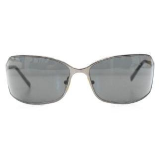 Prada Men's Silver Sunglasses