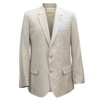 Marc Jacobs Men's Light Grey Blazer
