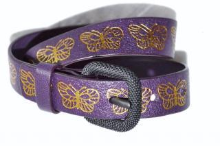 Bottega Veneta leather butterfly wrap bracelet