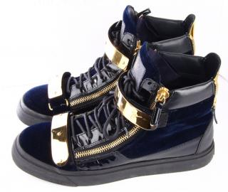 Giuseppe Zanotti Two Bar High-top Trainers
