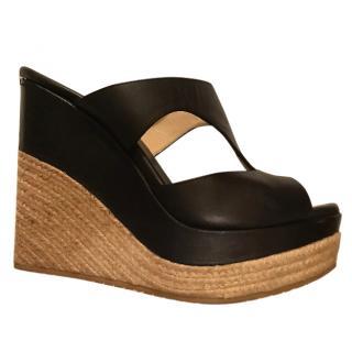 Jimmy Choo platform wedge sandals