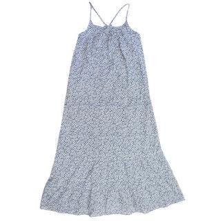 Marie Chantal Kid's Daisy Print Maxi Dress