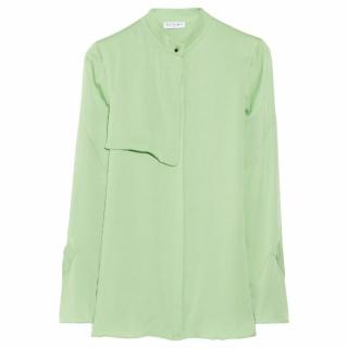 Vionnet womens silk-blend georgette shirt