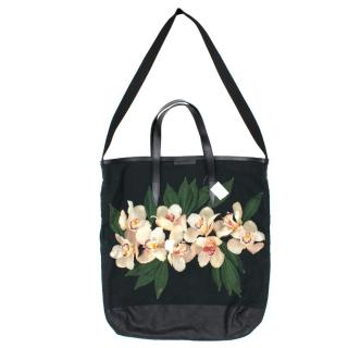 Dries Van Noten Floral Tote