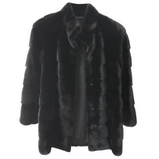 Salvatore Ferragamo Fur Mink Jacket