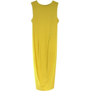 Sportmax yellow dress