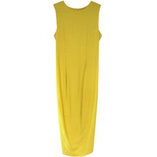 Sportmax yellow dress