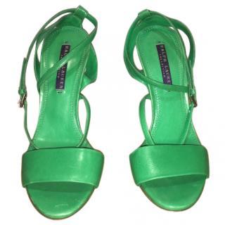 Ralph Lauren wedge summer shoes