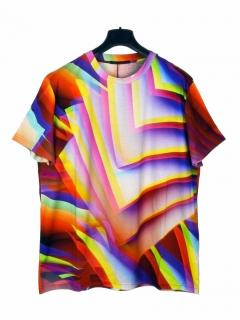 Christopher Kane Gradient Pages Digital Print T-shirt