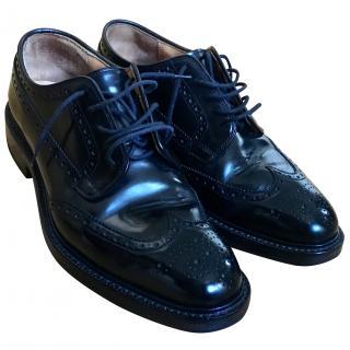 Church Grafton brogue shoes in Black