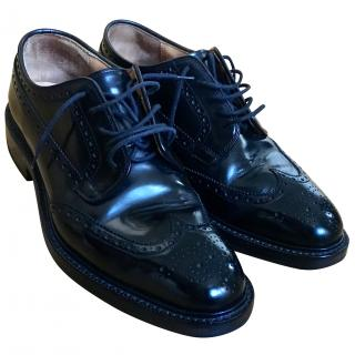 Church Grafton brogue shoes in Black