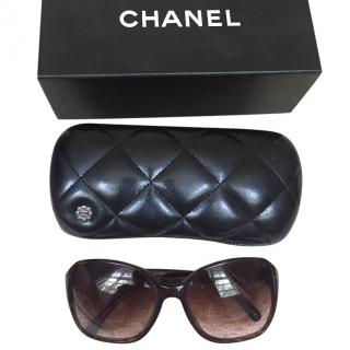 Chanel sunglasses with bow detail