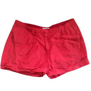 Acne Studios Red Shorts
