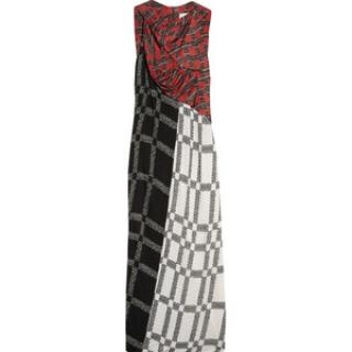 Peter Pilotto off-white and black 'Echo' dress