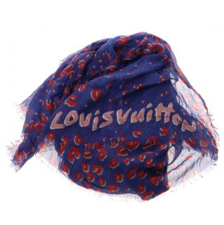Louis Vuitton Stephen Sprouse cashmere and silk scarf