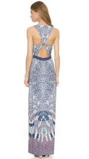 BCBG Maxazria Adriene Cut-out Maxi Dress