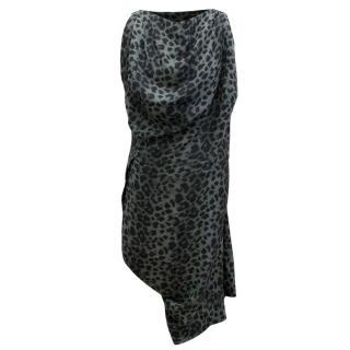 Vivienne Westwood Anglomania Leopard Print Dress