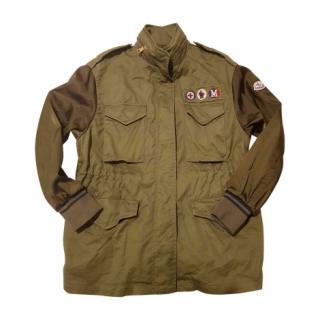 Moncler bomber military jacket