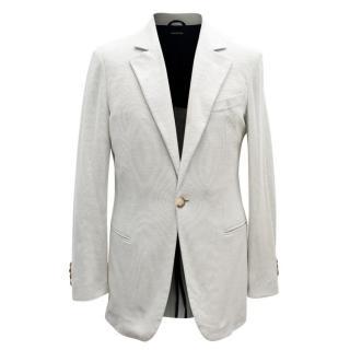 Giorgio Armani Men's Grey Blazer