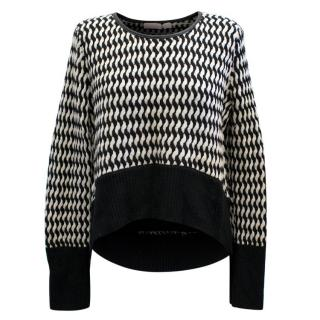 Sass And Bide Black And White Jumper