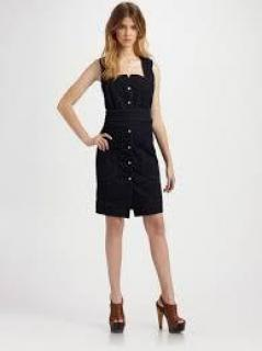 Edun Ehtical Black Criss Cross Dress
