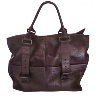 Mulberry Holdall Leather Grazia