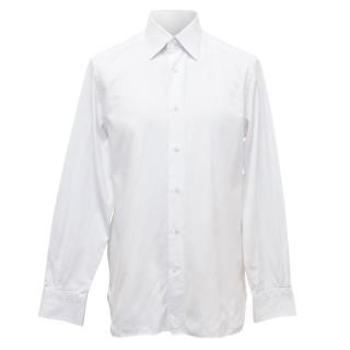 Ermenegildo Zegna White Men's Shirt
