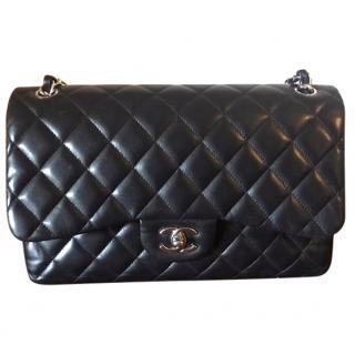 Chanel 2.55 Jumbo Lambskin Black