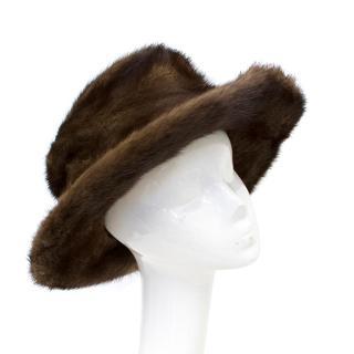 Patricia Underwood Mink Hat