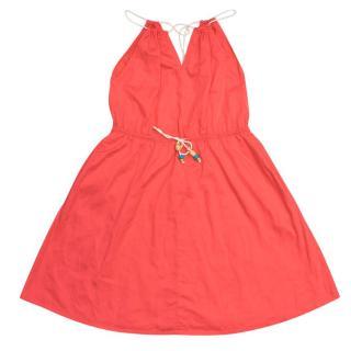 Talc Girl's Pink Maxi Dress