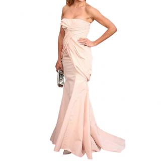 Christian Dior soft pink evening gown as worn by Cameron Diaz