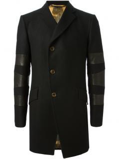 Vivienne Westwood Black Panelled Sleeve Coat
